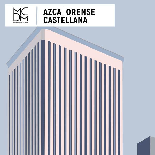 Logo zona Azca Orense Castellana