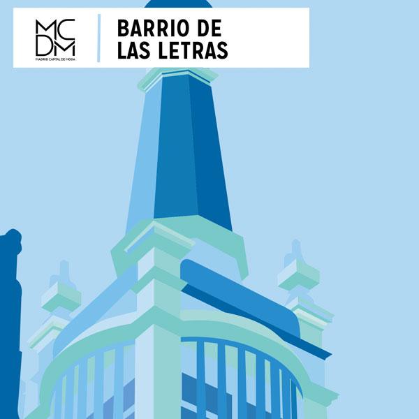 Logo barrio de las Letras