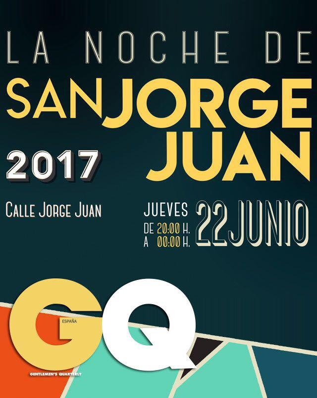San jorge juan 2017 la noche de la moda masculina - Scalpers jorge juan ...