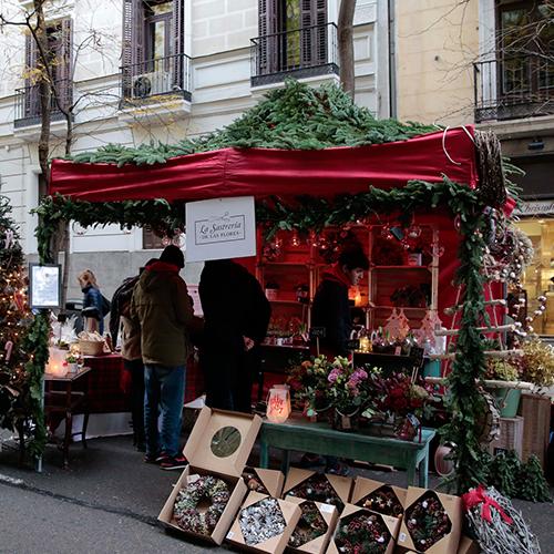 Mercado de las flores de navidad de vogue mcdmmadrid - Mercado de navidad en madrid ...