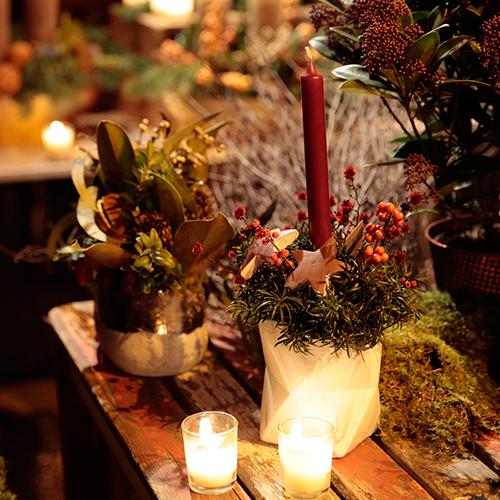 Mercado de las Flores de Navidad de Vogue