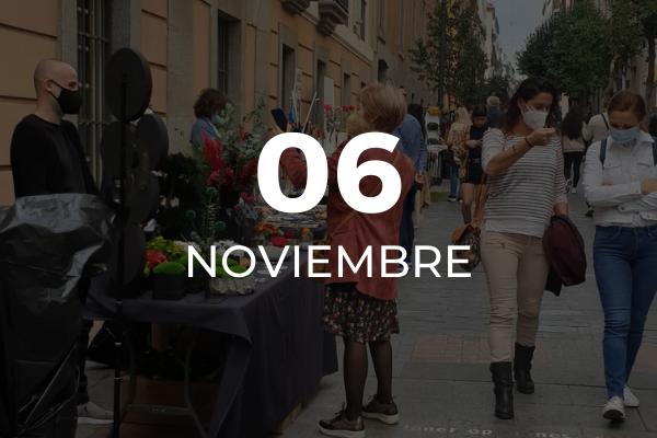 Mujeres en el Mercado de las Ranas del Barrio de las letras