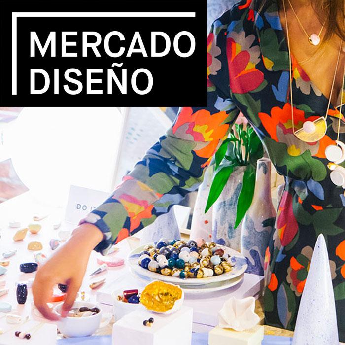 Imagen promocional mercado diseño
