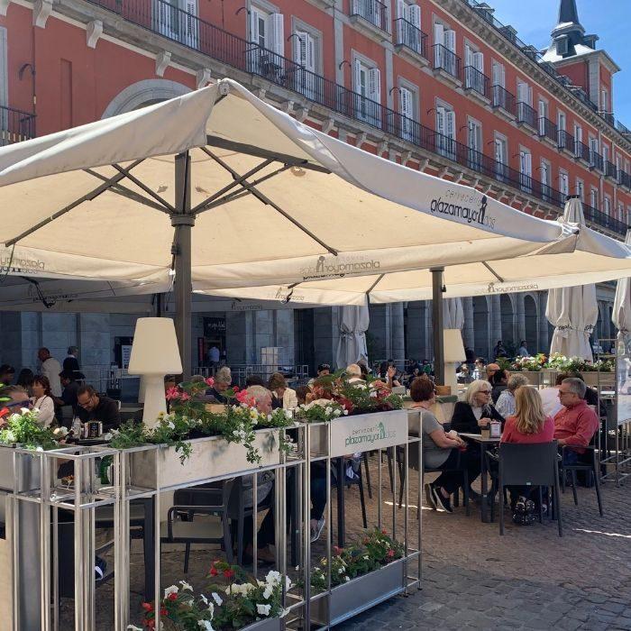Terraza en Plaza Mayor Madrid