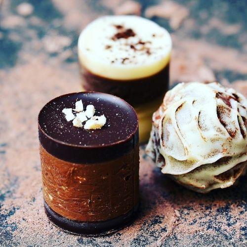 Bombones de chocolate gourmets