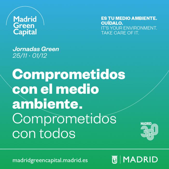 Imagen promocional Madrid Green Capital