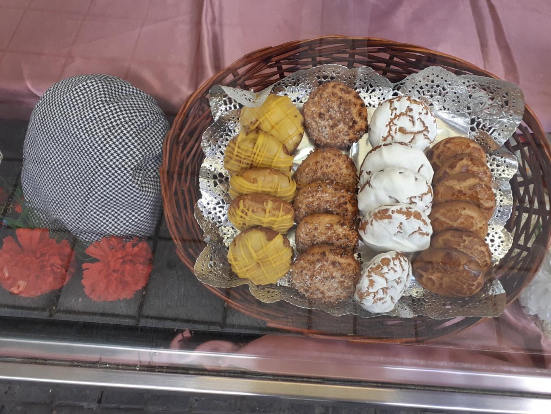 Diferentes variedades de galletas