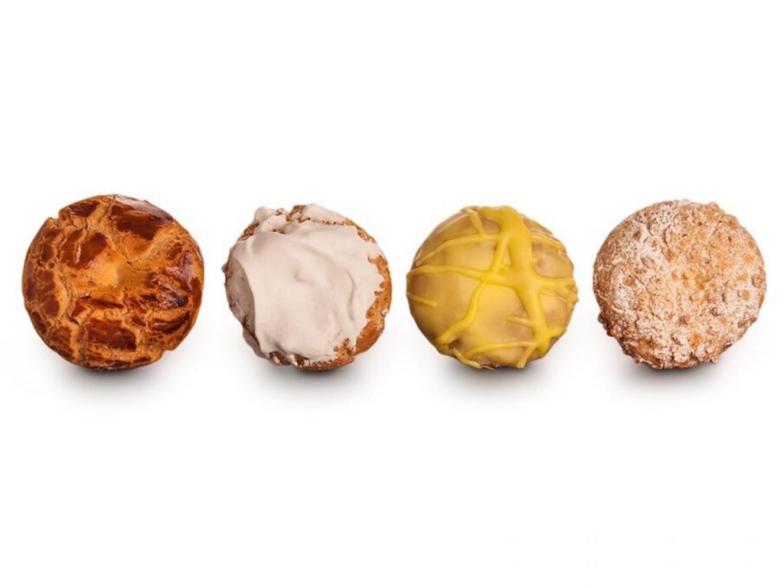4 variedades de galletas