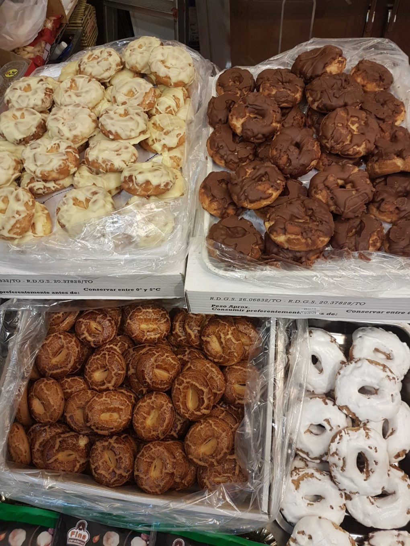 Diferentes variedades de rosquillas