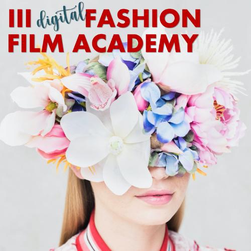 Cartel de Digital Fashion Film Academy