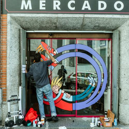 Puerta del Mercado de los Mostenses
