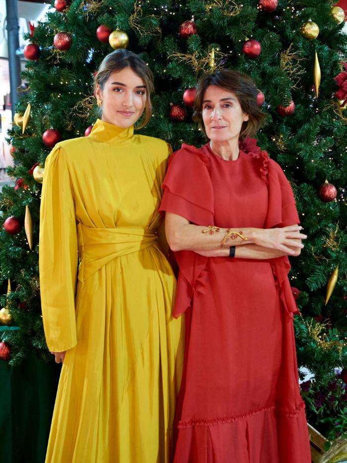 Margarita Ruyra de Andrade y Valentina Suárez-Zuloaga