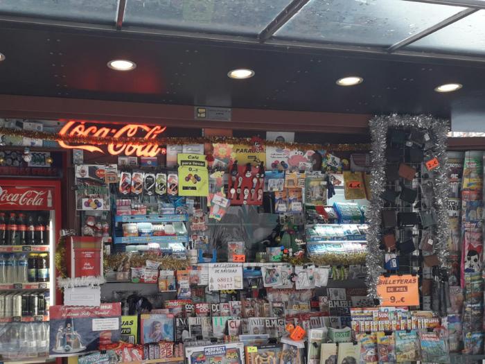 Quiosco de la calle de Alcalá 261