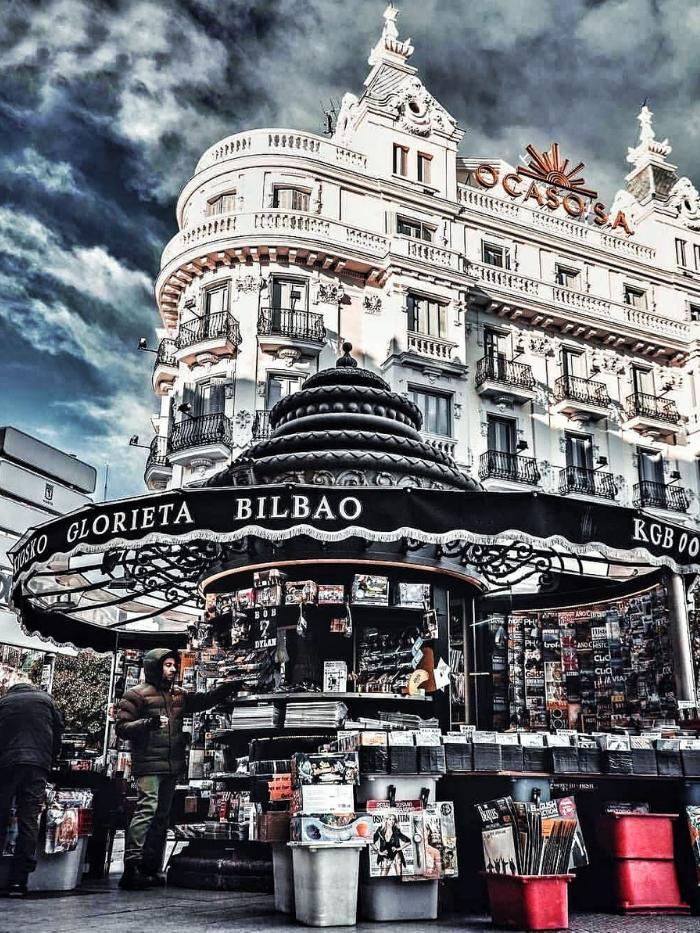 Quiosco de la calle Bilbao