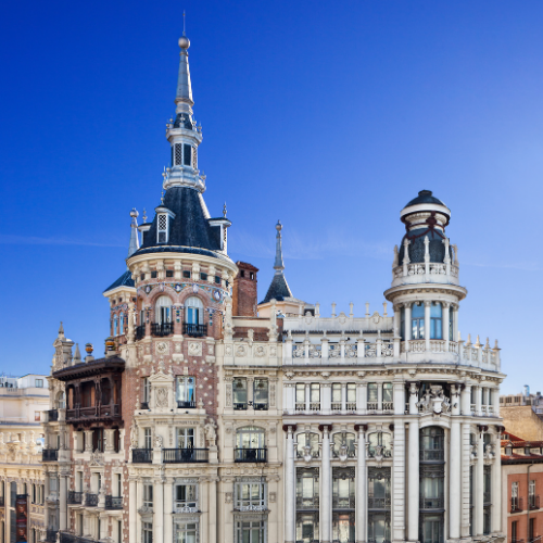 Facha del edificio Casa de Tomás Allende
