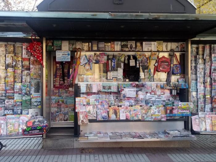 Quiosco de la calle Castillo de Simancas