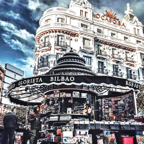 Quiosco de la Glorieta de Bilbao