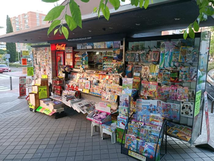 Quiosco de la calle Ginzo de Limia