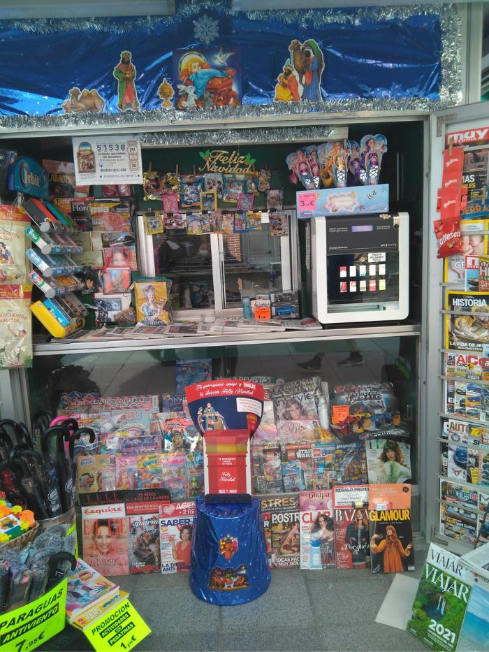 Quiosco de la calle Marqués de Viana 18