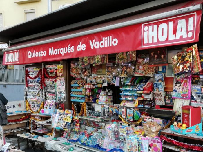 Quiosco de la calle Marqués de Vadillo