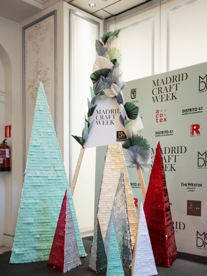 Árbol de Navidad de Madrid Craft Week