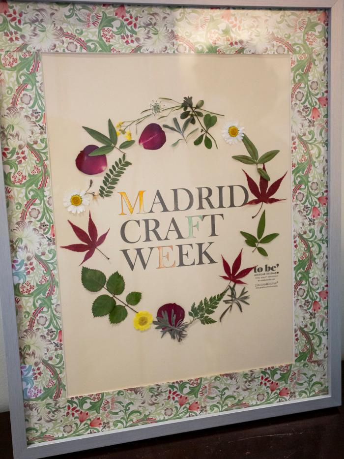 Cuadro collage de Madrid Craft Week