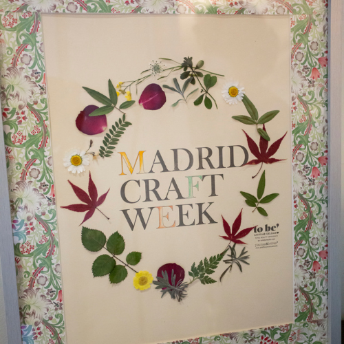 Cuadro collage de Madrid Craft Week