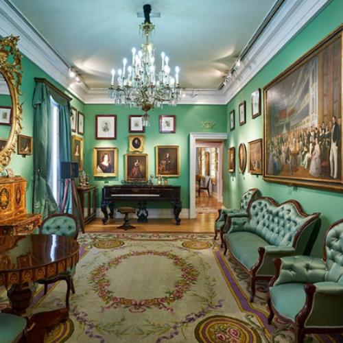 Salón verde del Museo del Romanticismo