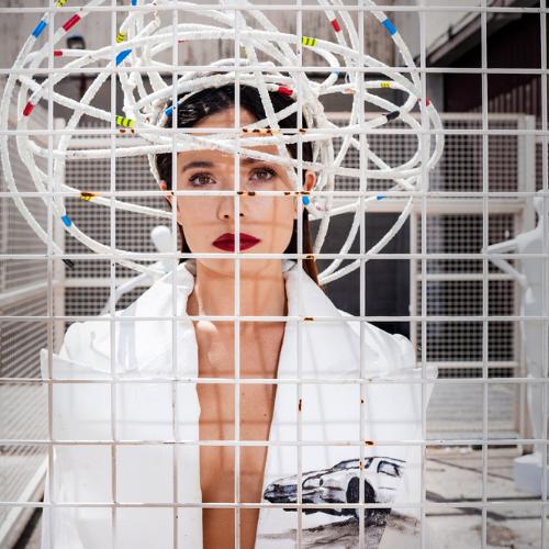 La actriz Anna Castillo retratada por Omar Ayyashi