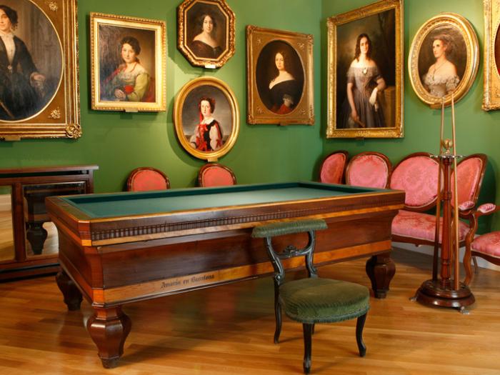 Sala de Billar del Museo del Romanticismo