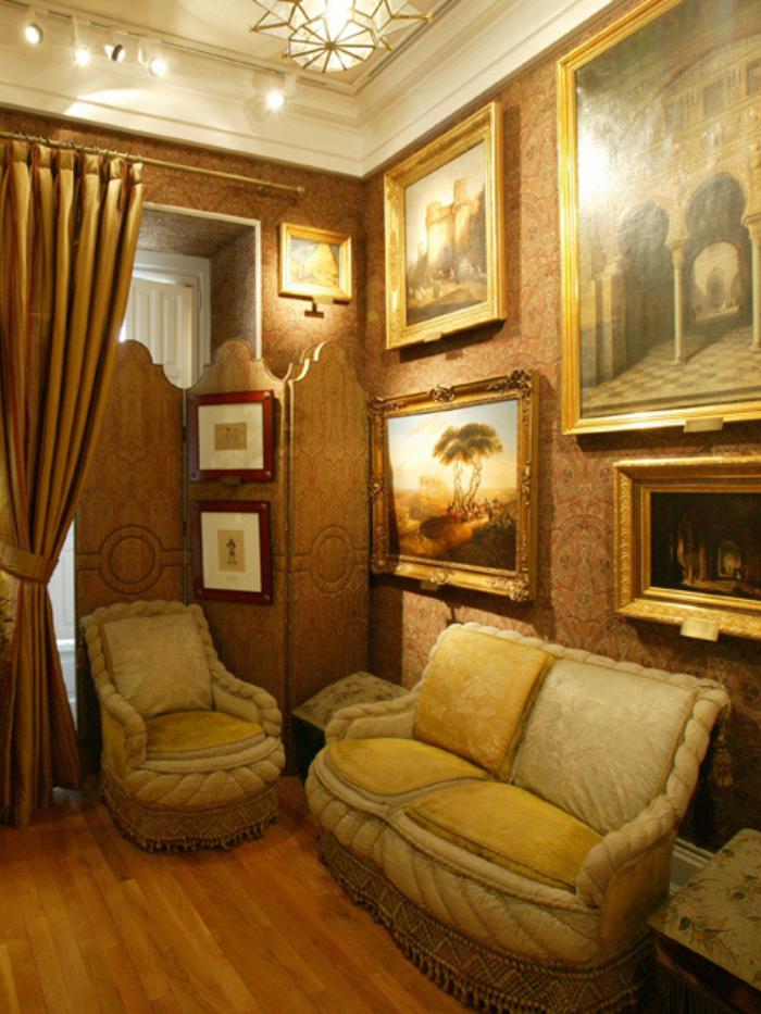 Sala de Fumadores del Museo del Romanticismo