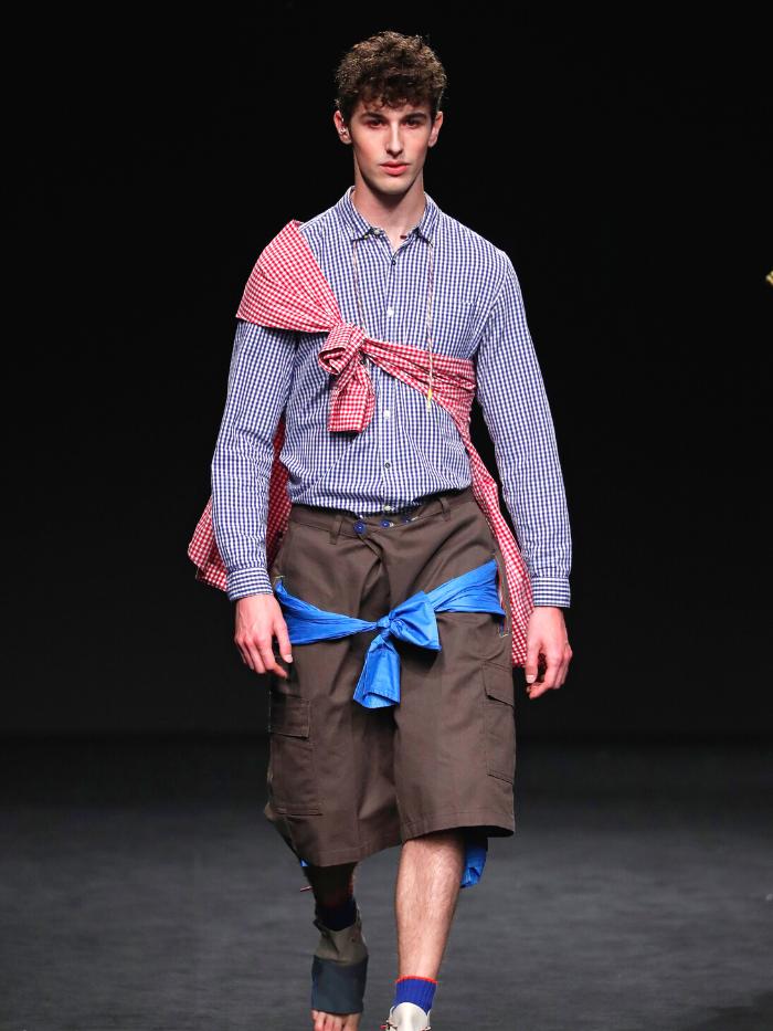 Modelo vestido de Rubearth