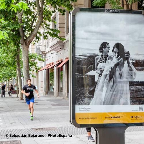 Exposición callejera de PhotoEspaña